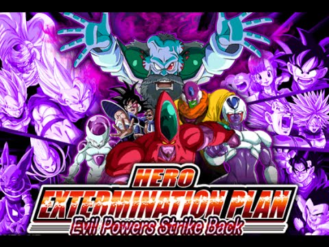 DBZ: Dokkan Battle (Global) - Hero Extermination Plan (Last Two Floors) *No Stones*