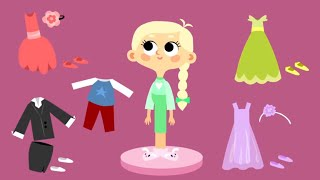 Cartoons For Girls - School Prom - Lisa's dresses (26)