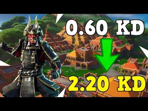 How To Get A Better KD On Fortnite!