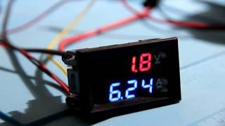 Laser test of 6 watt ( 6000 mw) 808 nm (infrared) Endurance laser
