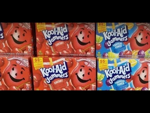 Kool Aid Jammers $1 per Item😉My Haul Couponing@ Dollar General 🤑No $5 off $25😁 Needed