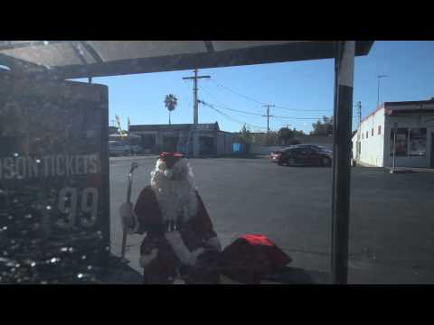 I saw Santa...at the bus stop - Part 2