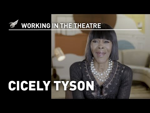 Working in the Theatre: Cicely Tyson
