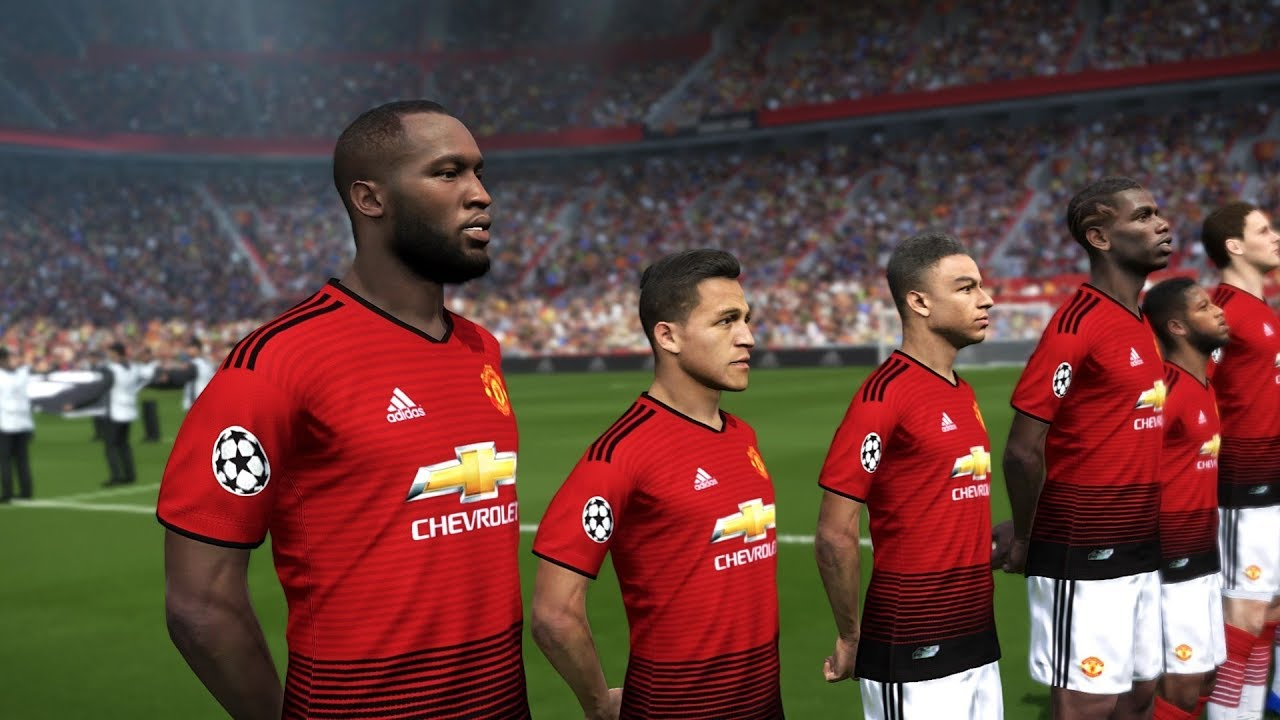 Manchester United Vs Juventus Uefa Champions League 2018 19 Gameplay Youtube
