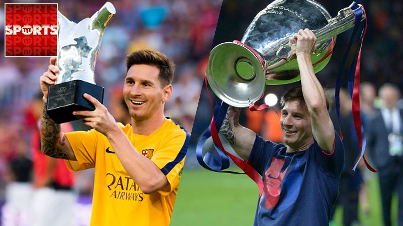 MESSI Has Now Won Every Club Trophy THREE TIMES With FC Barcelona