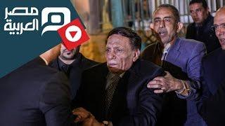 مصر العربية   عادل إمام يصل لمقر عزاء محمود عبدالعزيز