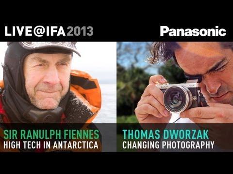 Thomas Dworzak and Sir Ranulph Fiennes