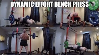 9-6-2019 Jason Blaha Training -  Dynamic Effort Bench Press & Accessories