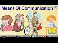 World Of Knowledge  ~ Means Of Communication | Pre School Learning and Kids Education
