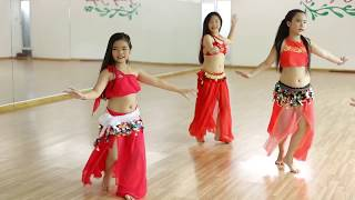 Belly Dance For Kid (I Wana Dance) -  Trang Selena Bellydance