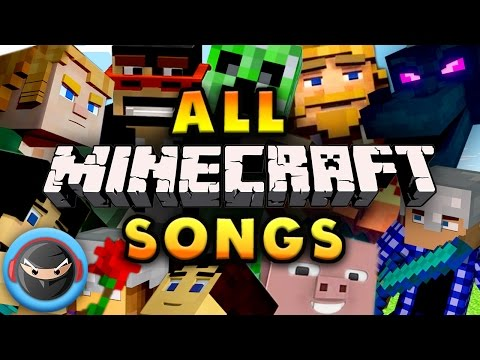 MINECRAFT SONG 1 HOUR PLAYLIST (TryHardNinja) UPDATED 2017