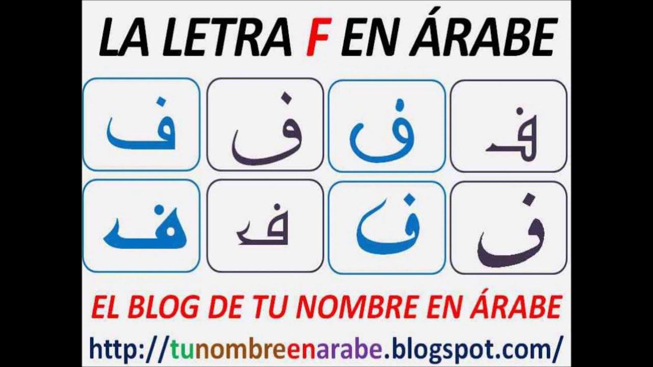 Abecedario Arabe Para Tatuajes Traducidas En Español Youtube