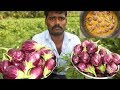 FARM FRESH MASALA Brinjal Recipe | Traditional Way of Cooking in My Village | VILLAGE FOOD