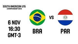 LIVE - Brazil v Paraguay - South American U15 Championship 2018
