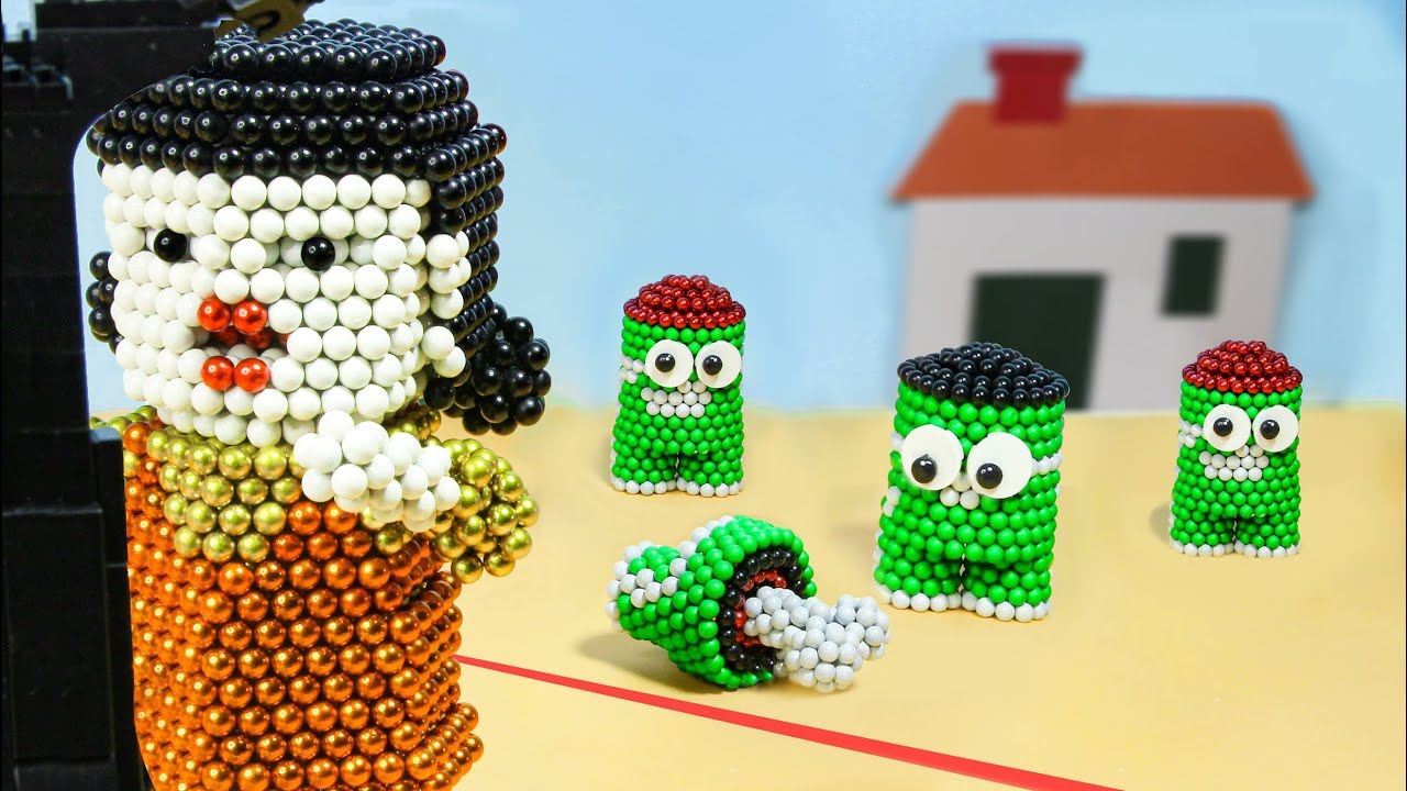 Download Squid Game from Magnetic Balls : Satisfying Video