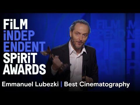 Emmanuel Lubezki wins Best Cinematography at the 30th Film Independent Spirit Awards