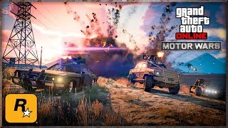 Playing MOTOR WARS and Racing in the New RAPID GT (GTA Online Live Stream)
