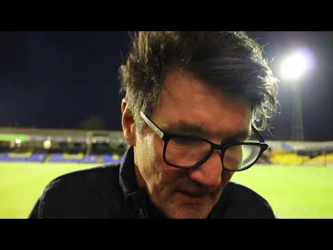 Mick Harford on the 1-0 win over Southend United
