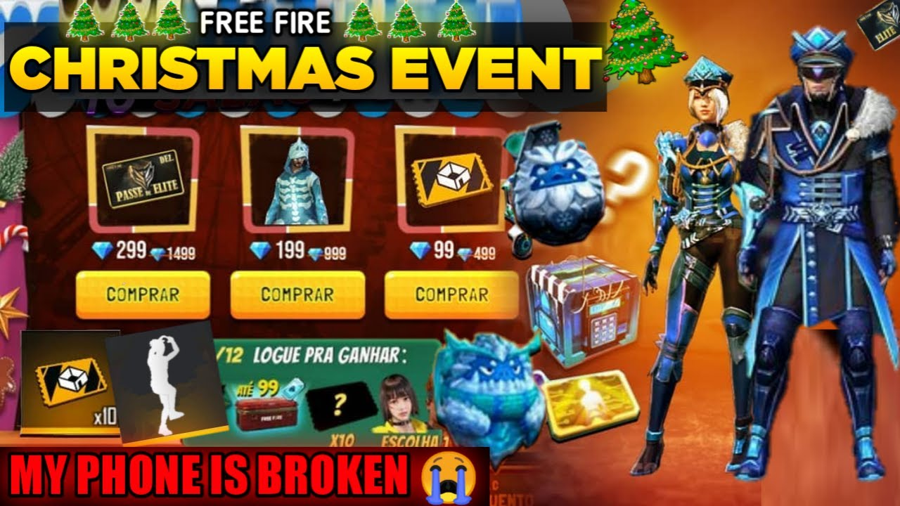 2021 Christmas Events Free Fire Christmas Event 2021 Full Details Upcoming New Event Updates New Years Freefire Events Youtube