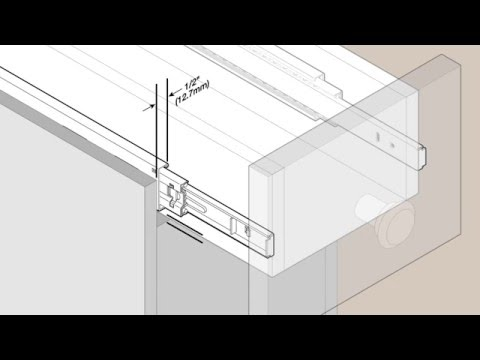 Blum Soft Close Drawer Slides Blue Motion Tandem Full Extension Concealed Slide Hardware Installation Instructions Otion