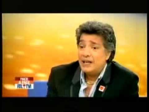 Frédéric François interview dans l'émission Face à Face