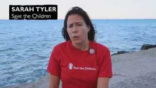 Flüchtlingstragödie in Griechenland: Vlog Sarah Tyler