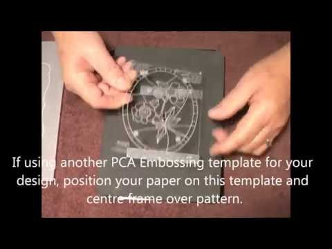 53 PCA-Parchment Craft EasyCut Card Making PART 4