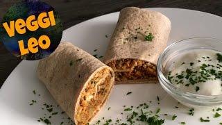Tandoori Wraps | veganes Rezept