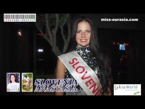 MISS EURASIA-2014 Presentation - Slovenia