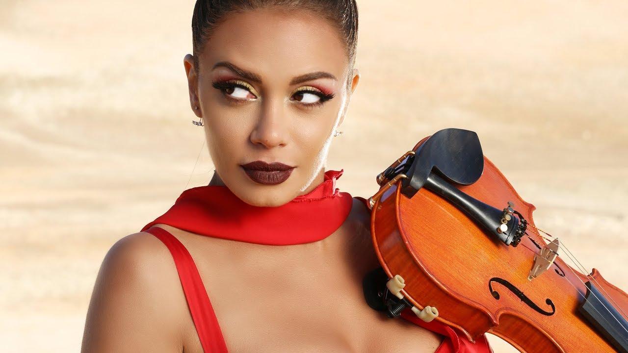 Hanine the oriental violinist ft. Nour - Msadaa Halak (2018)/مصدق حالك