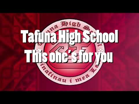 Tafuna High School x This One's For you