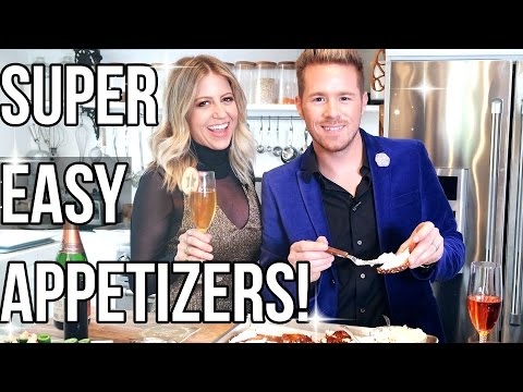 3 Easy Holiday Appetizers!