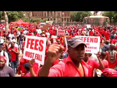 'Day of Action': EFF members in Pretoria