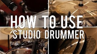How to Effectively use Midi Drums with Native Instruments Studio Drummer