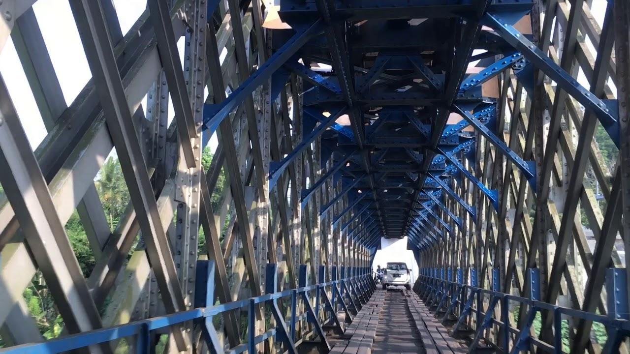 Pesona Jembatan Cirahong Tasikmalaya Ciamis