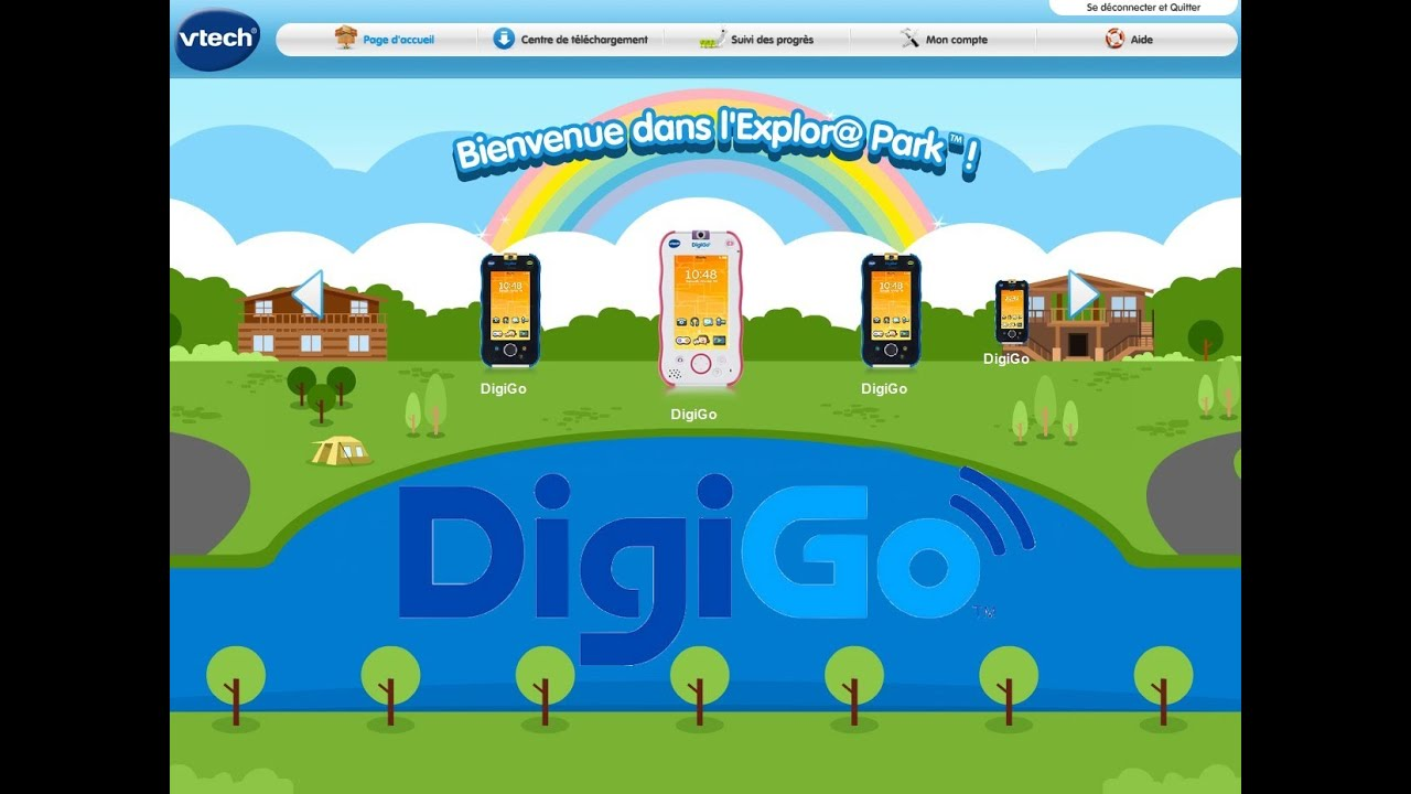 EXPLORA PARK DIGIGO TÉLÉCHARGER VTECH