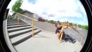 This Rail Slide Fail Is Insanely Brutal