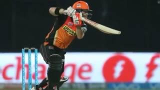 warner match winning innings 93 runs vs gl   highlights   vivo ipl 2016 eliminator 2 srh vs