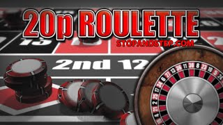 20p Roulette - BIG FOBT Gambling in William Hill