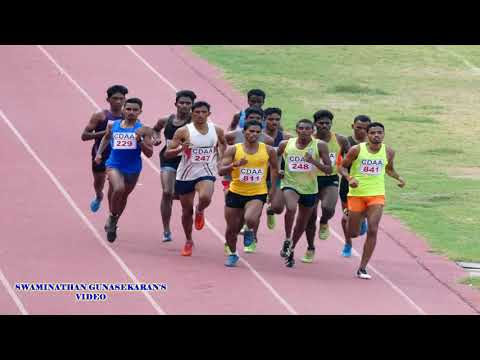 MEN'S 800m RUN FINAL. 90th TAMILNADU  STATE  SENIOR  ATHLETICS  CHAMPIONSHIP-2017.