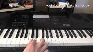 Мелодия из сериала - Воронины на пианино
