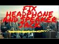 FIX! Headphones/Speaker Jack Not Working! (AUDIO FIX)