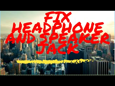 fix!-headphones/speaker-jack-not-working!-(audio-fix)