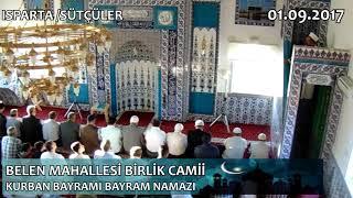 2017 Kurban Bayramı Bayram Namazı