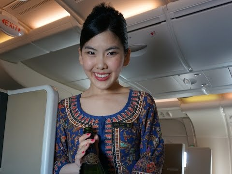 Singapore Airlines Business Class - Airbus A380 - SIN-NRT -W