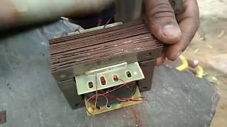 how to make a transformer 12 Voltage battery charger quick battery charger