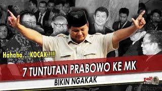 BERITA TERBARU HARI INI ~ BARU 26 MEI 2019 ~ 7 Tuntu (tan) Prabowo Ke MK