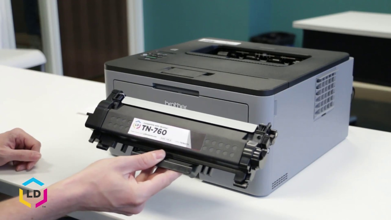 How to Install an LD Brand Compatible Brother TN-760 Toner Cartridge