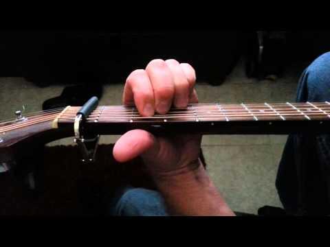 KD Lang Constant craving lesson cover acoustic guitar