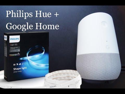 philips hue erfolgreich mit google home verkn pfen youtube